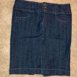 Jean Skirt 💃🏻